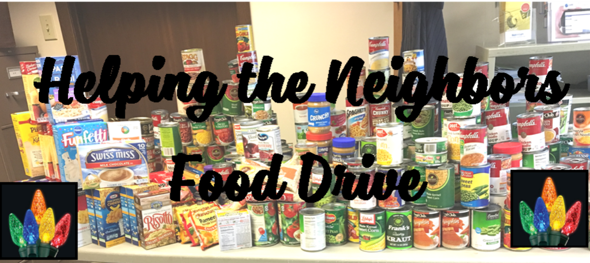 Helping Our Neighbors Food Drive